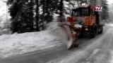 Schneechaos in OÖ - Schneeräumungsdienste im Dauereinsatz