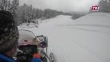 Sperren in Skigebieten und Rettung mit dem Hubschrauber