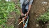Glasfaserkabel Internet