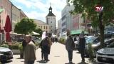 TV1 Automesse belebt die Innenstadt