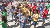 Jugend Marschbewerb beim Bezirksmusikfest