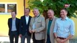 Landtagspräsident on Tour mit Abgeordneten