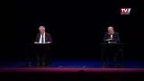 Klaus Maria Brandauer und Hermann Beil lesen aus dem Schriftverkehr zwischen Thomas Bernhard und seinem Verleger