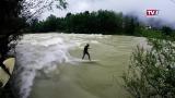 Europas größte Fluss-Surfwelle
