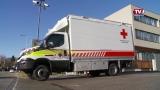 Neues Katastrophen Hilfsdienst Pritschenfahrzeug