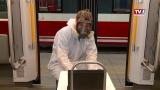 Stern & Hafferl - Desinfektion der Züge