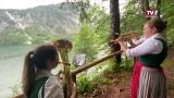 Musikverein Grünau: Echoblasen am Almsee