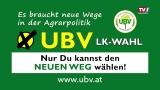UBV fordert neue Wege in der Agrarpolitik.