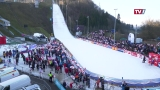 Skispringerinnen in Hinzenbach