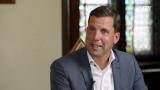 Zukunftsvisionen: Gmundens Bürgermeister Stefan Krapf im Gespräch