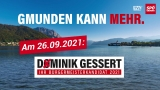 Dominik Gessert ist Bürgermeisterkandidat der SPÖ Gmunden