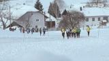 Laufen gegen die Kälte - der Dreikönigslauf der LG Innviertel