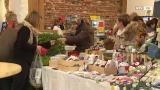 Bauern Feichta Markt rund um Georgi