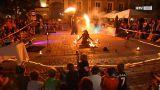 Artistik und Musik beim Straßenkunstfestival Stadtoase in Braunau