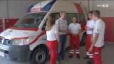 Im Dienst - beim Roten Kreuz