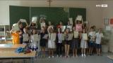 Zeugnisverteilung an der Volksschule Eferding Süd