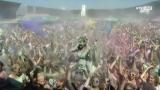 Holi Festival - ein Farbenmeer mit vielen glücklichen Besuchern