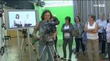 Ortsbäuerinnen machen Fernsehen