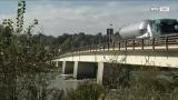 Salzach Brücke: Schwerlaster trifft auf Brückenfrühstück