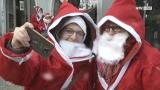 Der Nikolaus läuft für den guten Zweck
