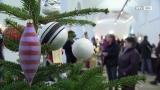 Schloss Ranshofen in Weihnachtswelt verwandelt