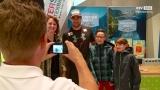 Skistar Vincent Kriechmayr zu Gast bei Gesundheits- und Fitnesstag