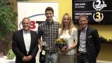 Siegerehrung 4 Städte Grand Prix