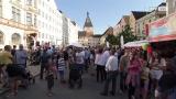 Partystimmung am Braunauer Stadtfest