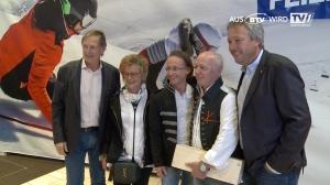 Skilegenden bei Intersport Kaltenbrunner Eröffnung in Wels