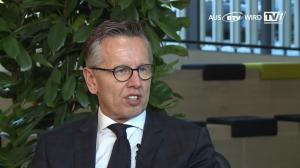 Bankdirektor Klaus Ahammer im Gespräch
