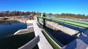 Halbzeit beim Wasserkraftwerk Traunleiten 2.0