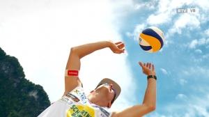 Portrait: Beachvolleyball-Profi Florian Schnetzer