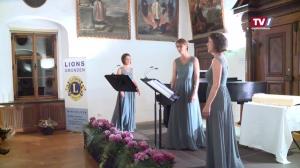 Lions Liederabend - 3 Stimmen verzaubern im Klostersaal