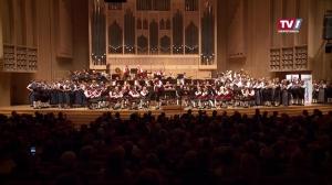 Siegerkonzert von Best of Blasmusik 2017 im Brucknerhaus