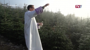 Erste Christbaumsegnung