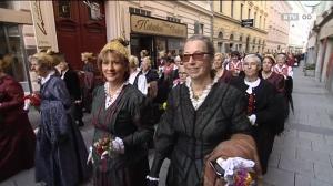Wallfahrt der Volkskultur - 40-Jahr-Feier der OÖ Goldhauben-, Kopftuch- und Hutgruppen