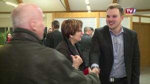 Neujahrsempfang des jüngsten Bürgermeisters OÖs