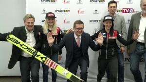 Damen FIS Skisprung Weltcup 2019 in Hinzenbach
