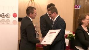 LR Achleitner verleiht Award 2018 des Rats für Forschung und Technologie OÖ