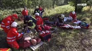 Großangelegte Übung - die FF Wildenau will nichts dem Zufall überlassen