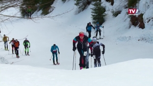 4000 Meter auf zwei Skiern bergauf und das im Eiltempo