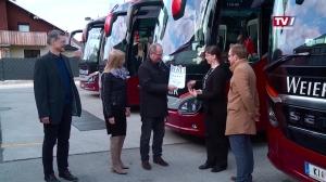 Weiermeier Reisen als Vorreiter beim Buskomfort