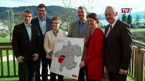 Landtagspräsident mit Abgeordneten on Tour