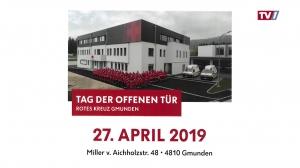 Endlich ist es soweit – Rot Kreuz Bezirksstelle Gmunden eröffnet