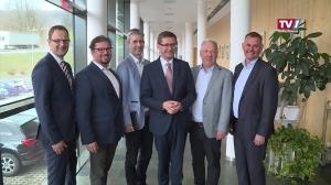 Wirtschaftslandesrat Markus Achleitner zu Gast in Gmunden