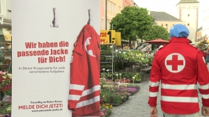 Welt Rot Kreuz Tag