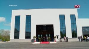 Gleichenfeier und Eröffnung neue Halle ASMAG