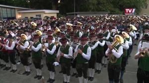 Bezirksmusikfest mit Marschwertung