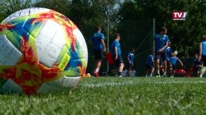 Trainingsstart Blau Weiß Linz