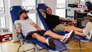 Neuspender Rekord in Gmunden beim Blutspenden